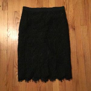 Gorgeous Lace Midi Skirt!